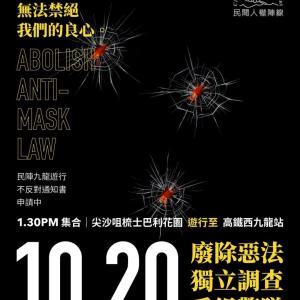10月20日尖沙咀で大規模デモ!尖沙咀に滞在予定の方は全員Ayanoさんのブログを読んでほしい!