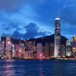 尖沙咀がガラガラすぎてびっくり!香港夜景と黒白淡奶フェリー。