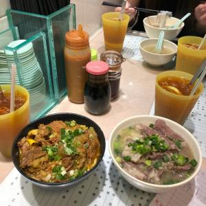 10年食べたかったローカル麺をついに食べた話と王道エッグタルトとローカル麺を買いに。