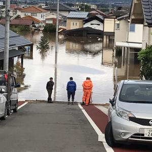 台風19号ヤバすぎ 嫁の実家は水没か?