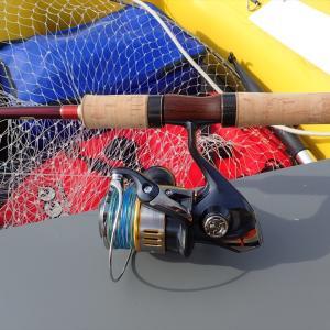 ゴムボーでの巨大魚用タックル