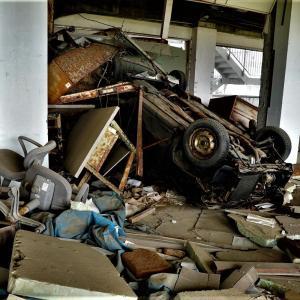 用事で岩手県に行っておりました(その1)震災遺構