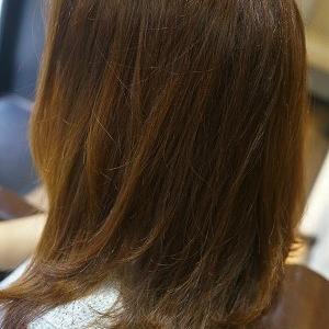 縮毛矯正でサラサラストレートヘアに。