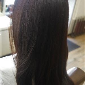 デジタルパーマでヘアスタイルをチェンジ。
