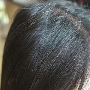 ハナヘナ2度染めで地毛の色と馴染ませて。