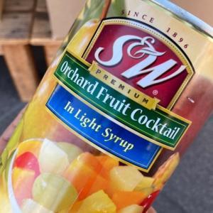 お買い得:S&Wフルーツカクテル4号缶