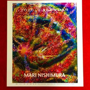 2020MARI NISHIMURA カレンダー