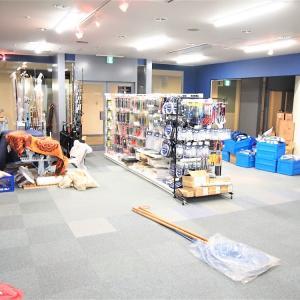 店舗拡張リニューアル工事中の営業のご案内