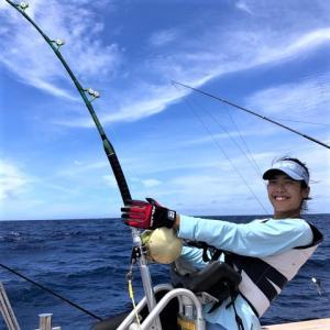 フィッシングダービー釣果 座間味沖 クロカジキ153kg&70kg