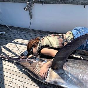 安乗沖 ブラックマリーン181.3kgランディング!