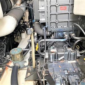 SSボート61スーパーフィッシャー メンテナンス実施中