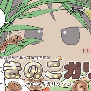 【きのこガリ】昆虫少年