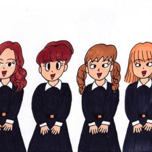 松陽女子学院の生徒・学生たち(その1)