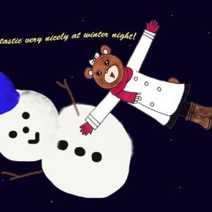 カレンダー 2月(Snow fantasy)