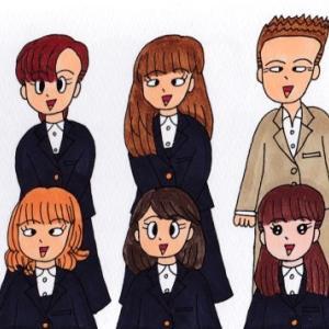 私立鳴海学院の生徒たち(その4)