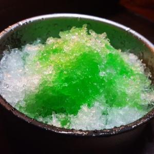 「かき氷」を作りました。