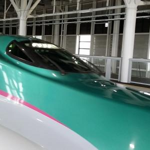 北海道新幹線に乗りました♪