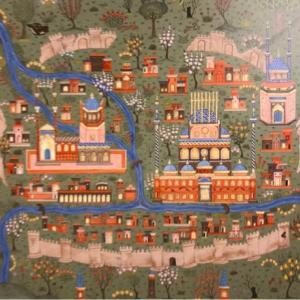 西アジア細密画展