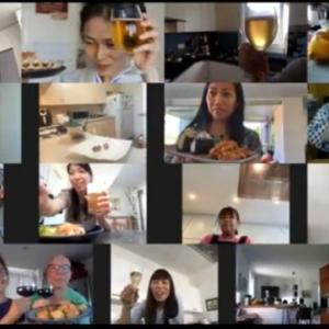 ZOOMでオンライン料理教室「炙りサーモンと温泉たまごでちらし寿司」のお知らせ