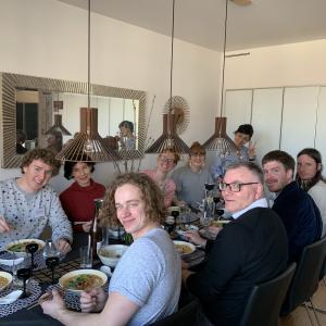 ビーガン和食教室(ラーメン、羽根餃子、春巻きとマンゴープリン) 2020年3月