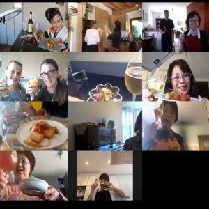 オンライン料理教室「鮭の南蛮漬け」 2020年6月