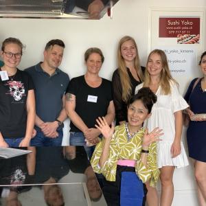 裏巻き寿司クラス 2020年6月(2)