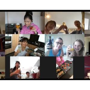 ZOOMでオンライン料理教室「牛丼と簡単茶碗蒸し」