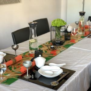 ビーガン和食教室(ラーメン、羽根餃子、春巻きとマンゴープリン) 2020年10月
