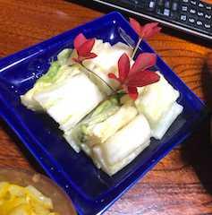 白菜が美味しい