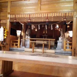 羽黒神社新嘗祭、お納めいたしました
