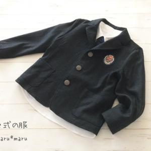 ジャケット・シャツ・ネクタイ[120]*長男入学式の服