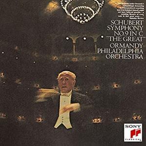 オーマンディ指揮 シューベルト 交響曲第9番「グレイト」