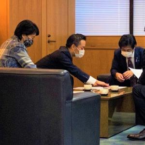 田村厚生労働大臣との意見交換