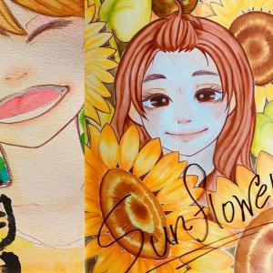 石井 咲希女史|イラストと文字によるHarmony