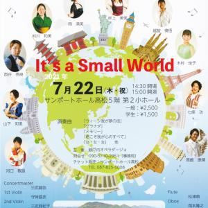 瀬戸内オペラダージョ vol.3|It's a Small World