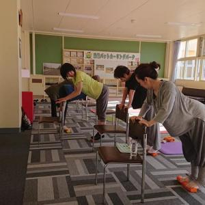 7月15日(水)南幌町も会場再開「自力で矯正する背骨コンディショニング」という声を頂いています