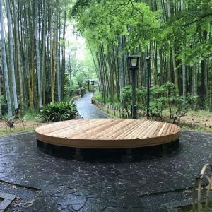 雨の修善寺