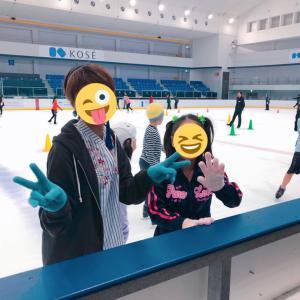 コーセー新横浜スケートセンターと宇野昌磨選手のマスク。