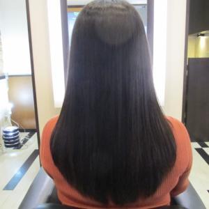 乾きずらい髪(´・ω・`)