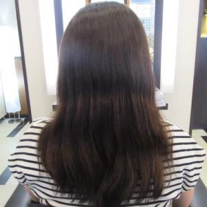 縮毛矯正+動きも少しずつ進化(´・ω・`)