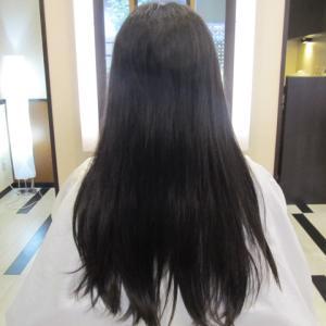 縮毛矯正と毛先の動き(´・ω・`)