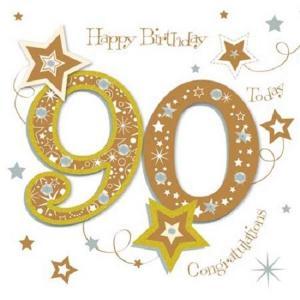 母の90歳の誕生日!