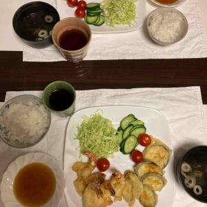 今宵は天ぷら