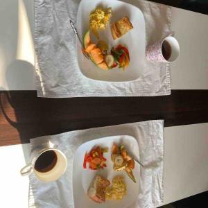 水曜日定休日の朝食