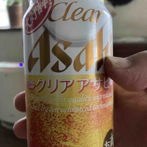 ビール飲みながら茄子を焼く