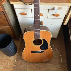 ギターのお話 フォークギターは私たちの世代は一度はやってみた・・