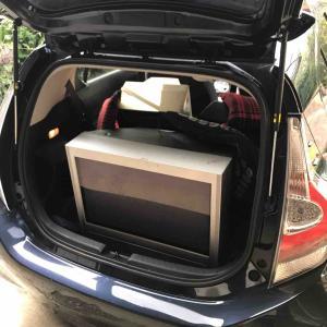 家電リサイクルテレビを西濃運輸に持ち込み
