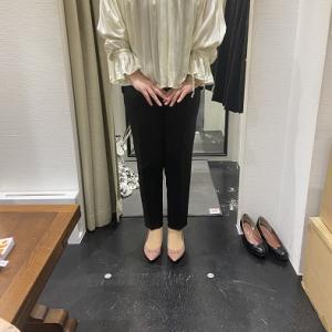 ショッピング同行:パンツは苦手!本当に似合うパンツを!