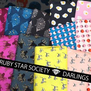人気生地が復活!Ruby Star Society Darlings Collection