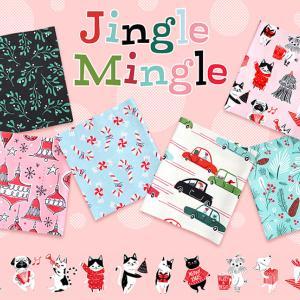 Cloud9 Fabrics の新作クリスマス生地 Jingle Mingle